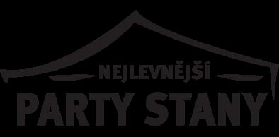 Logo nejlevnější párty stany