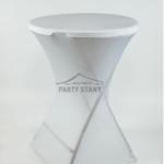 Bistro stůl vč. bílého potahu