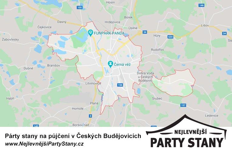 pujcovna party stanu české budějovice